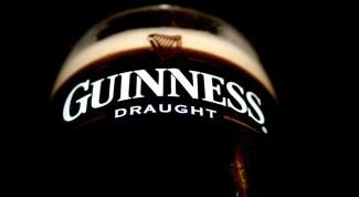 Как правильно наливать пиво Guinness