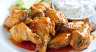 Как приготовить острые куриные крылышки