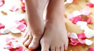 Как подготовить кожу ступней к лету