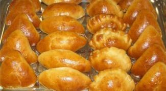Пирожки из безопарного дрожжевого теста