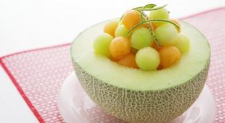 Как сделать тарелочки из дыни для фруктовых салатов