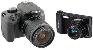Чем простой зеркальный фотоаппарат лучше