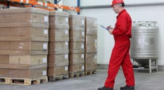 Duties of storekeeper