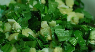 Как готовить черемшу