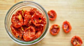 Как приготовить вяленые томаты
