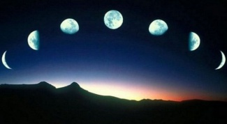 How to find out what the moon is growing or waning?
