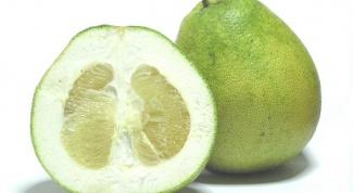Чем полезен фрукт помело