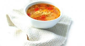 Как приготовить овощной суп с булгуром