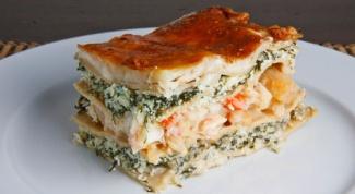 Как приготовить лазанью с морепродуктами