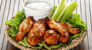 Рецепт маринада для куриных крыльев