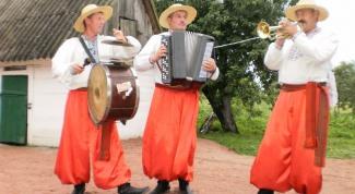 Народные инструменты украинского народа