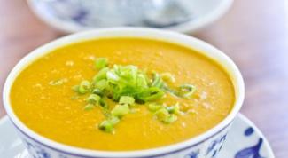 Куриный суп с карри