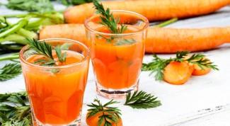 Как приготовить алкогольный коктейль из моркови