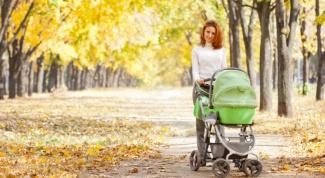 Как гулять с новорожденным