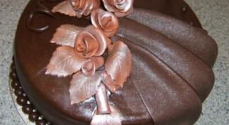 Мастика шоколадная из маршмелоу