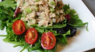 Как приготовить салат с тунцом и фасолью