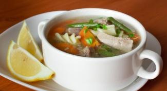 Как сварить суп из мяса индейки