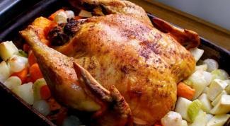 Как приготовить курицу целиком