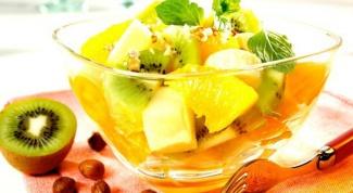Рецепты сладких салатов
