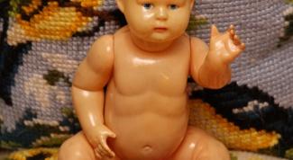 Как ухаживать за старинной целлулоидной куклой