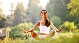 Дыхание во время йоги