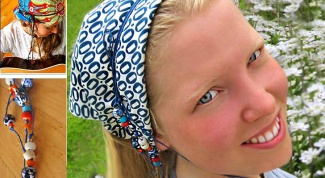 How to sew a bandana kerchief
