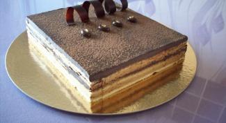 Классический рецепт торта «Опера»