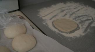 Постные пирожки с грибами и гречкой