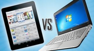 Что лучше: планшет или ноутбук