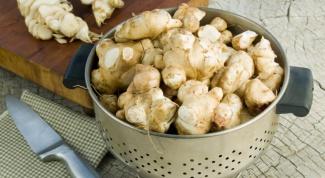 Рецепты блюд из топинамбура