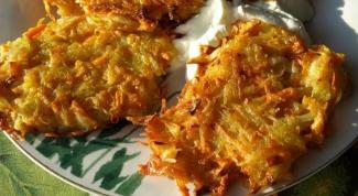 Вкусный и простой рецепт картофельных драников