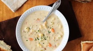 Как приготовить густой суп с цветной капустой и кокосовым молоком