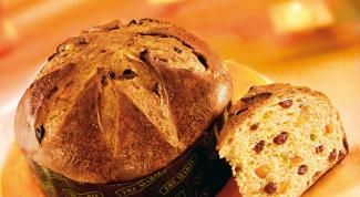 Панеттоне - итальянский праздничный хлеб
