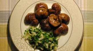Как приготовить телячьи почки, жаренные в льезоне на зеленом масле