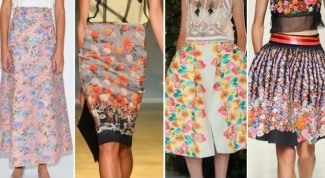 Какие юбки будут в моде летом 2014 года
