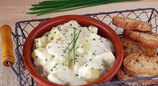 Как приготовить картошку в сливочном соусе