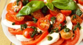 Закуски в итальянском стиле