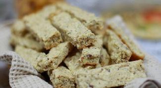 Как сделать ореховые палочки