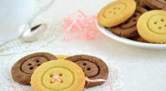 Как приготовить печенье «Пуговицы»