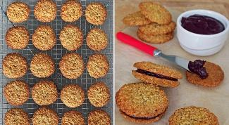 Как приготовить печенье с овсяными хлопьями и шоколадом