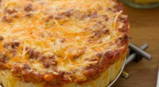 Как приготовить необычный пирог из пасты ригатони