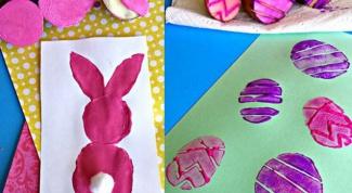 Как сделать пасхальную открытку с детьми
