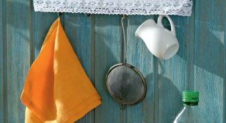 Как сделать вешалку для кухни