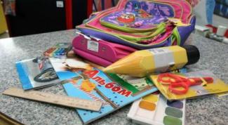 Что нужно взять с собой в школу