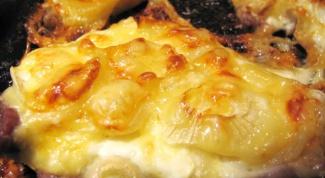 Мясо под картофельной «шубой»