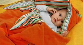 Как изготовить спальный мешок для малыша