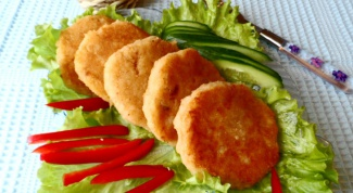 Котлеты постные рисово-картофельные с грибной начинкой