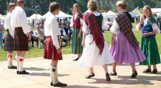 Как танцевать шотландские танцы