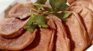 Рецепты блюд из отварного языка