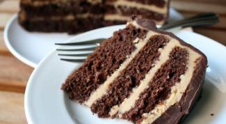 Рецепт шоколадного торта со сгущенным молоком